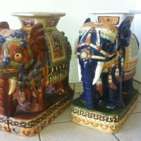 Vietnam Elephant Plant Stands Photo