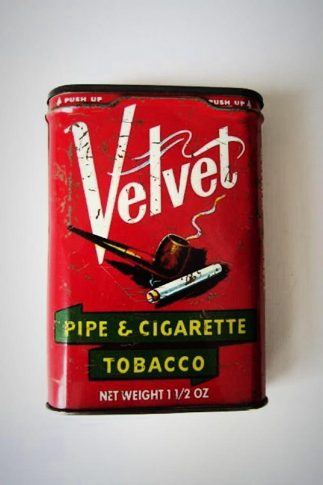 Vintage Tobacco Tin Photo