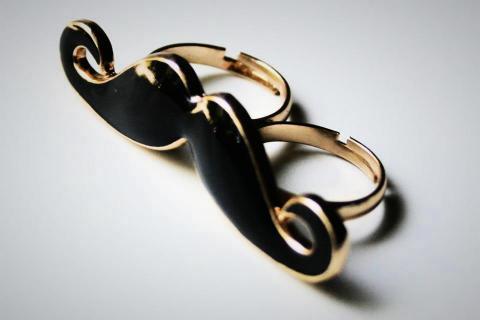 Mustache Ring Photo