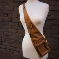 Beige Saddle Bag Photo