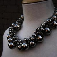Silver Bubble Necklace Photo
