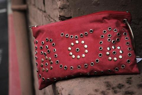 Red Bangle Clutch Photo