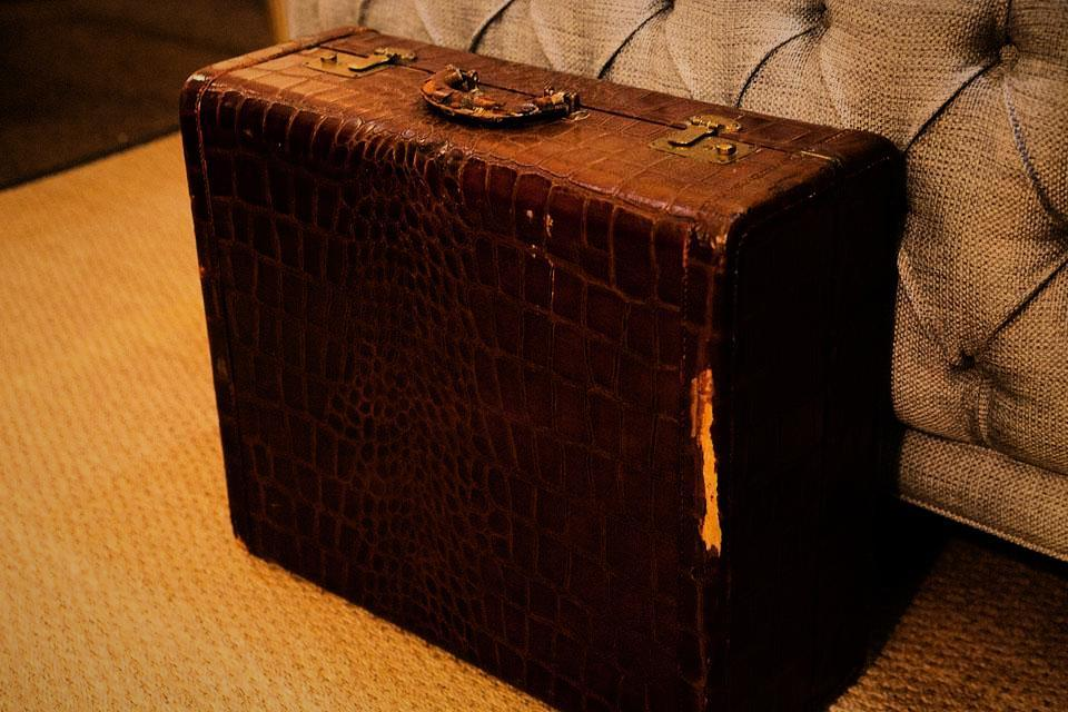 Vintage suitcase Large Photo