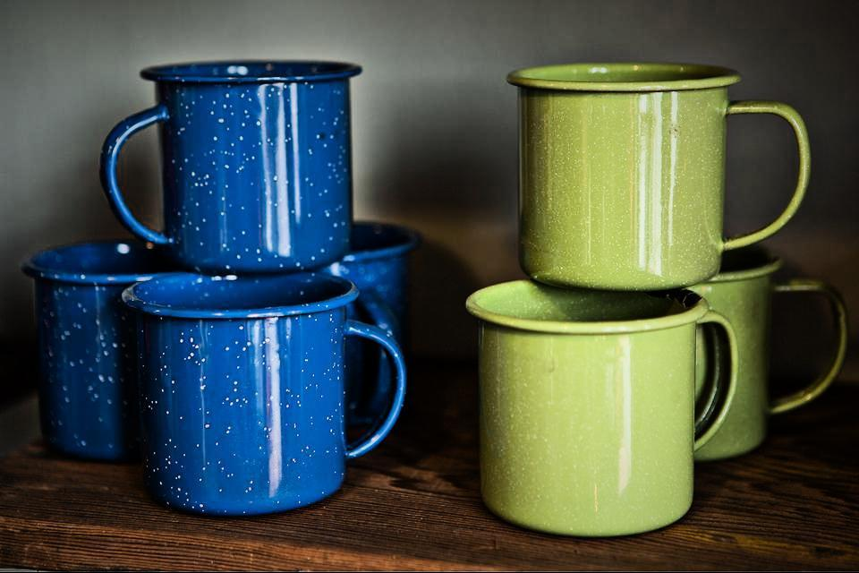 Enamelware Cups Large Photo