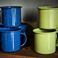 Enamelware Cups Photo