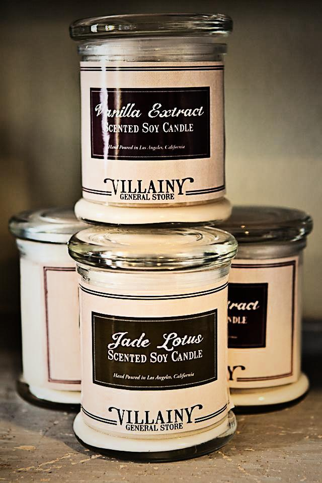 Scented Soy Candles Photo