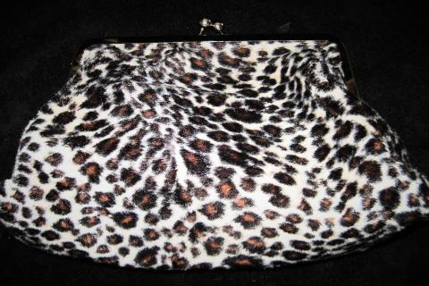 Leopard Make-Up Bag Photo