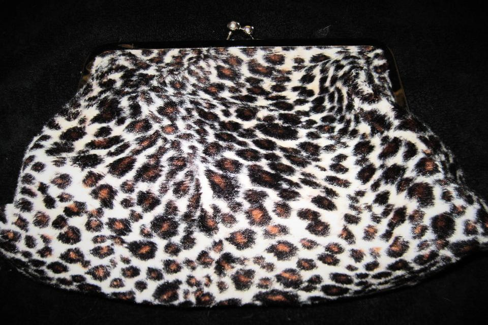 Leopard Make-Up Bag Large Photo