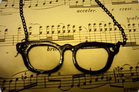 Watch Me Glasses Necklace  Photo