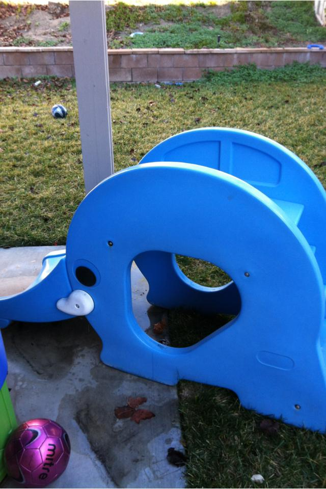 Little tikes slide Photo