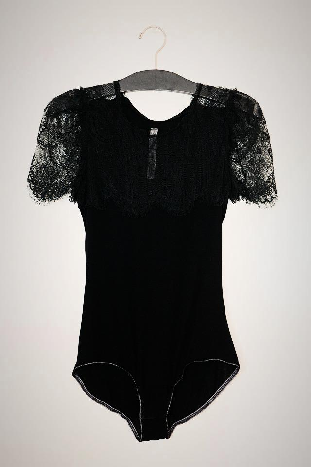 Raquel Allegra Lace Bodysuit Photo