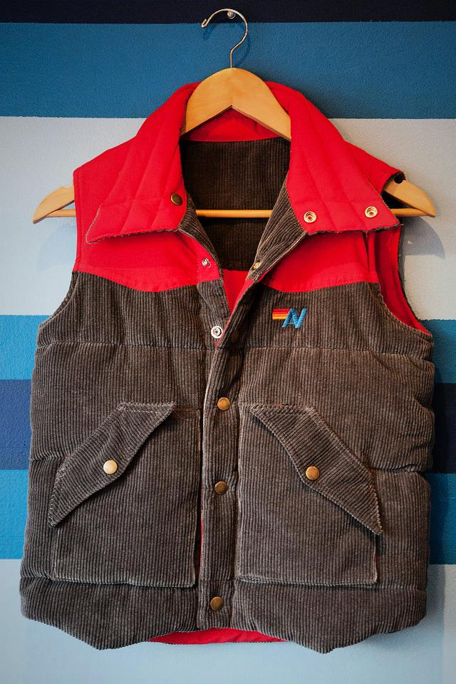 Corduroy Vest  Photo