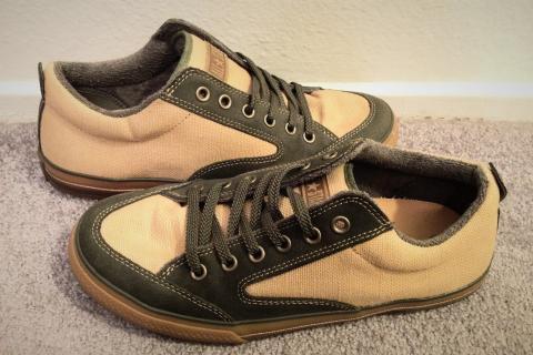 Olive Green & Hemp Converse Photo