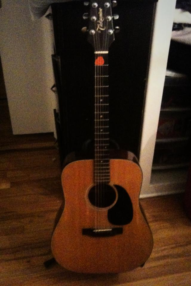 Beautiful acoustic guitar for sale!  Photo