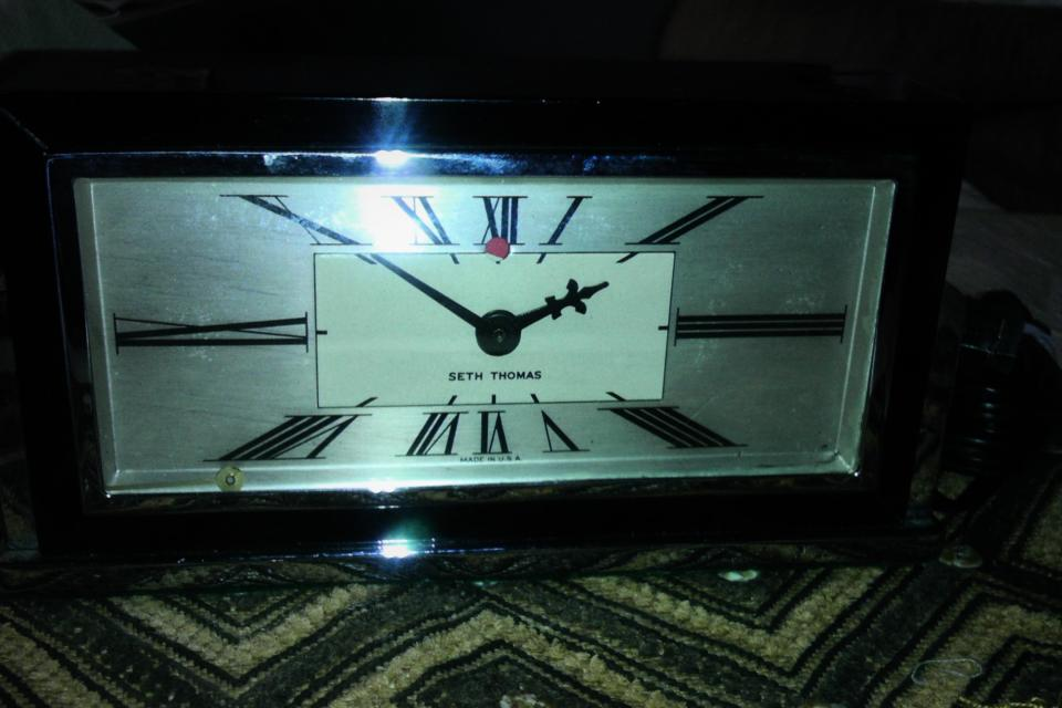 Seth Thomas Clock Baxter-E Model #E029-000 Large Photo