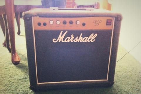 Vintage 80's Marshall Lead 20 amp Photo