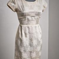 50's Silk dress size small Photo