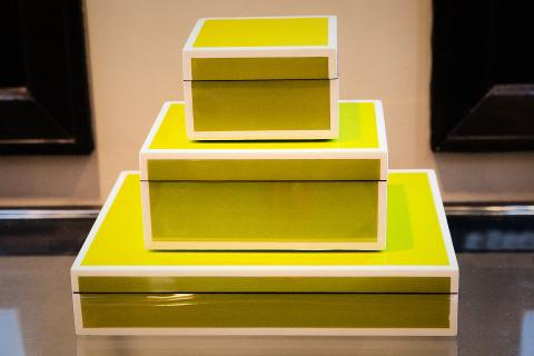 Set of 3 Lacquer boxes Photo