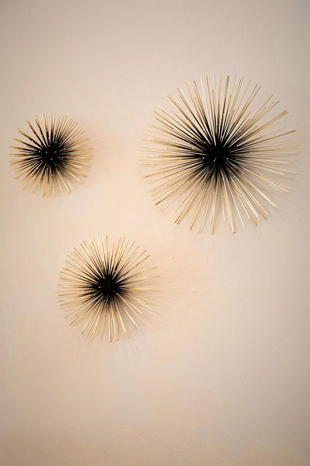 Firecracker Wall Sculptures  Photo
