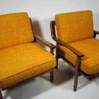 Pair of Mid Century Chairs.  Photo