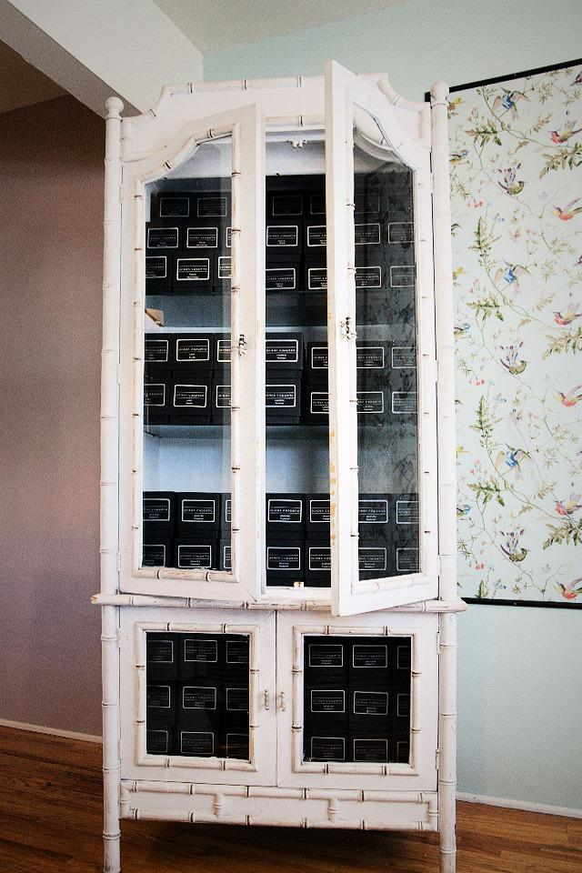 Vintage Bamboo Cabinet  Photo