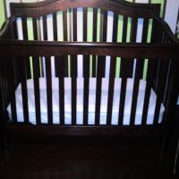 SORELLE CHERRYWOOD CRIB (740-VICKI) 4 IN 1 Photo