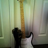 Fender Guitar and Amp Photo