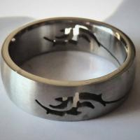 New Dolphin Stainless Steel Ring sizes 5 1/2, 6 and 7 1/2 Photo