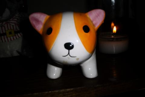 Adorable Hand Made Cat Piggy Bank Photo