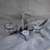 Tea candle holder table top Photo