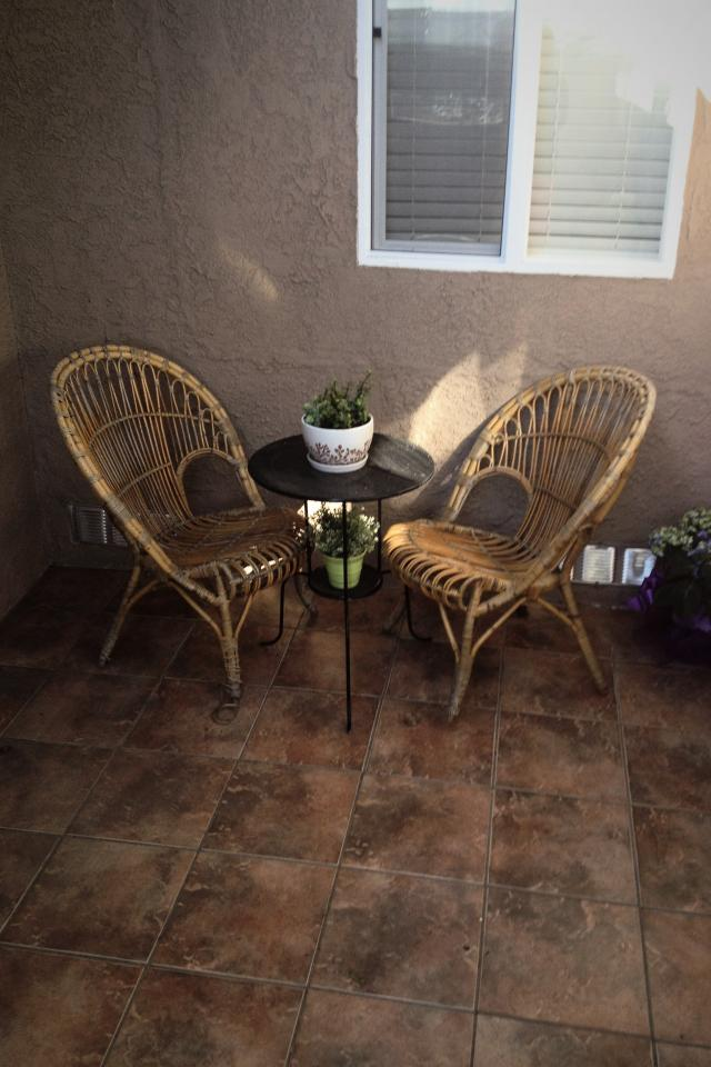 Rattan Fanback Chairs Large Photo