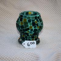 Emerald green tea light Photo