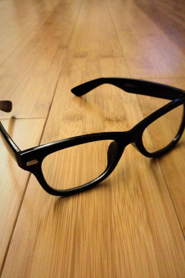 Non prescription glasses. Photo
