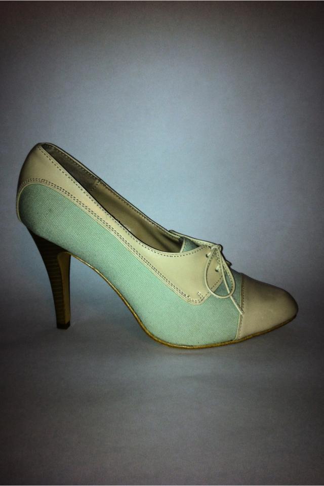 Saddle Shoes w a modern twist Size 8 1/2 Photo