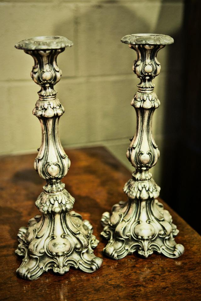 Iron Brubaker Candlesticks Large Photo