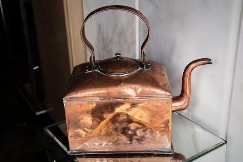 Copper Tea Kettle Photo