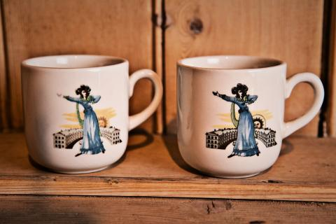 English Espresso Cups Photo