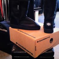Brand New Koolaburra Bomber Boots  size Mens 6 &amp; Womens 7 Photo