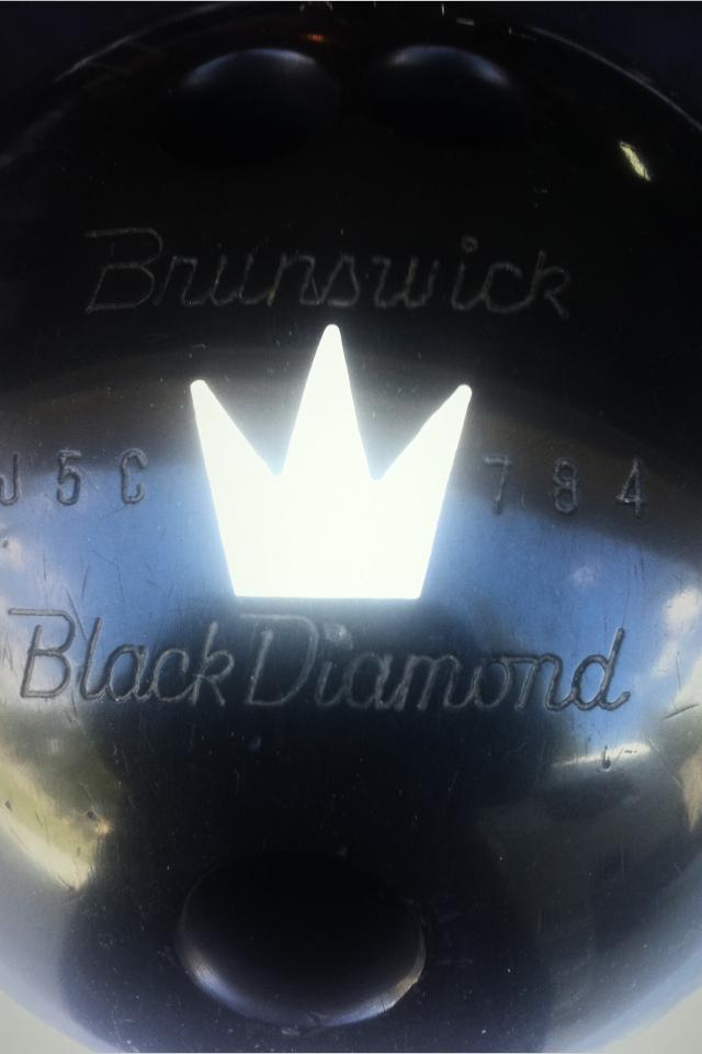Black diamond bowling ball OBO Large Photo