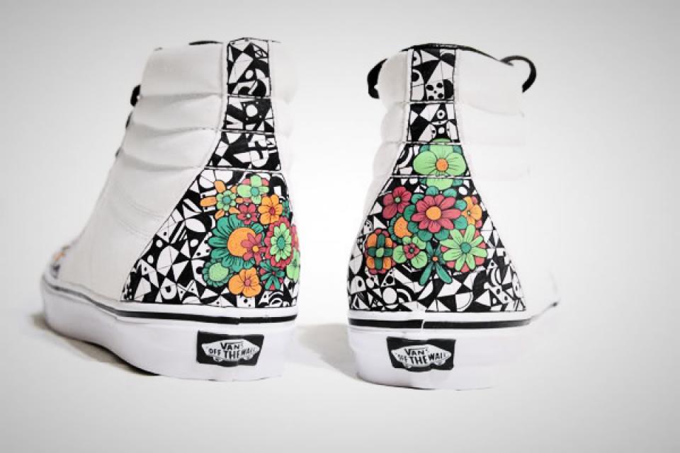 Custom Sneakers - Vans SK8-Hi -