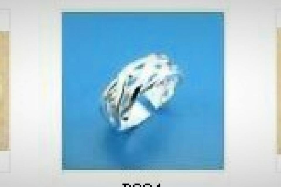 .925 silver Adjustable Ring Large Photo