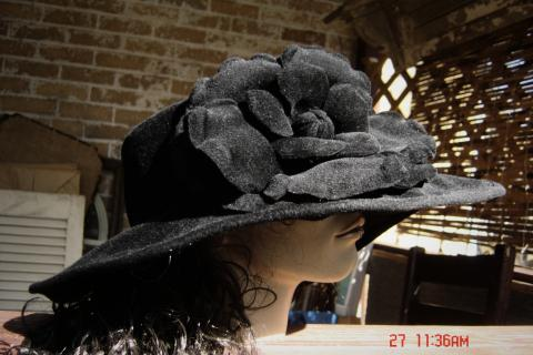 Halston Hat Photo