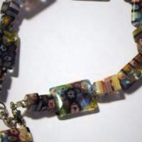 Millefiorie Beaded Bracelet Photo
