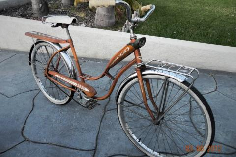 1960's Vintage Bicycle  Photo