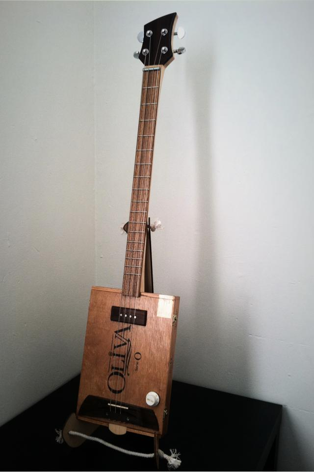 Cigar Box Guitar Hand Crafted Photo
