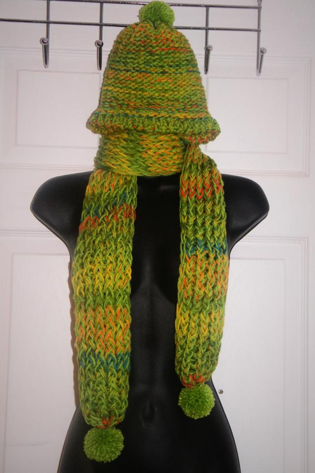 Handmade scarf and hat for sale in Decatur  HipSwap Handmade Scarves For Sale Online