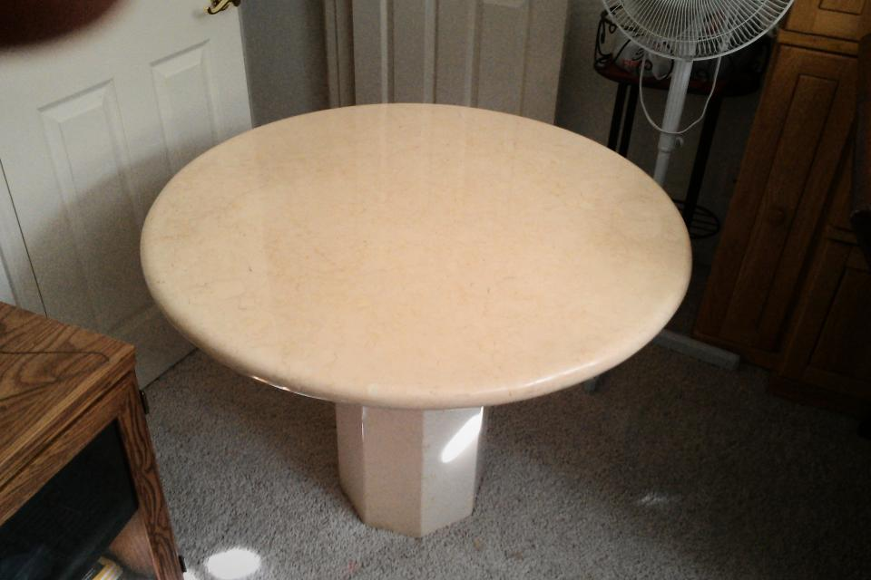3ft marble table  Large Photo