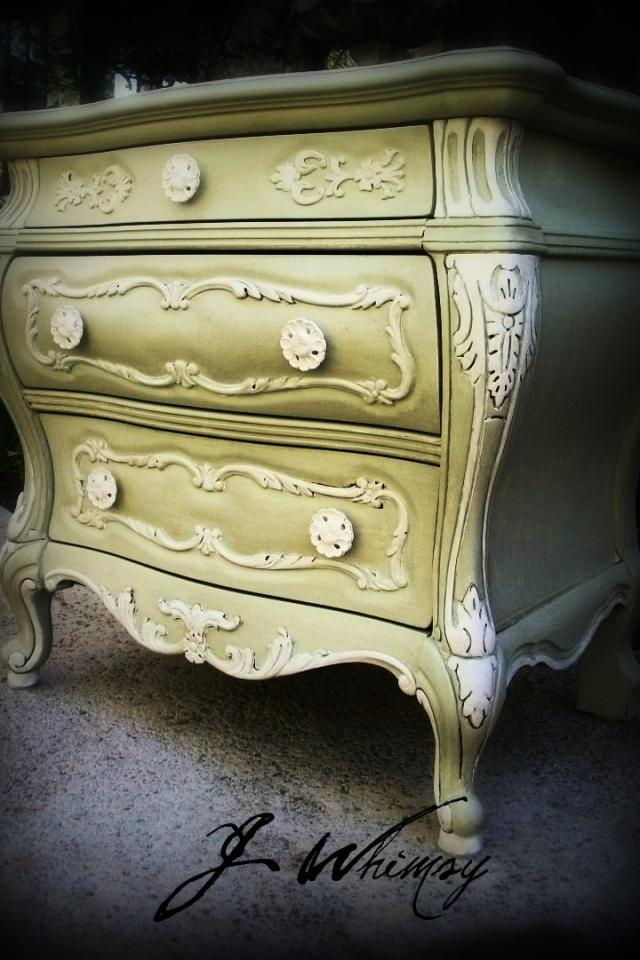 Gorgeous French Side Table Large Photo