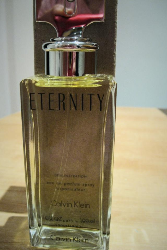 3.4 floz Eternity womens perfume New In a Box Photo