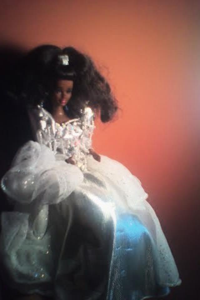 African American Christmas Barbie  Photo